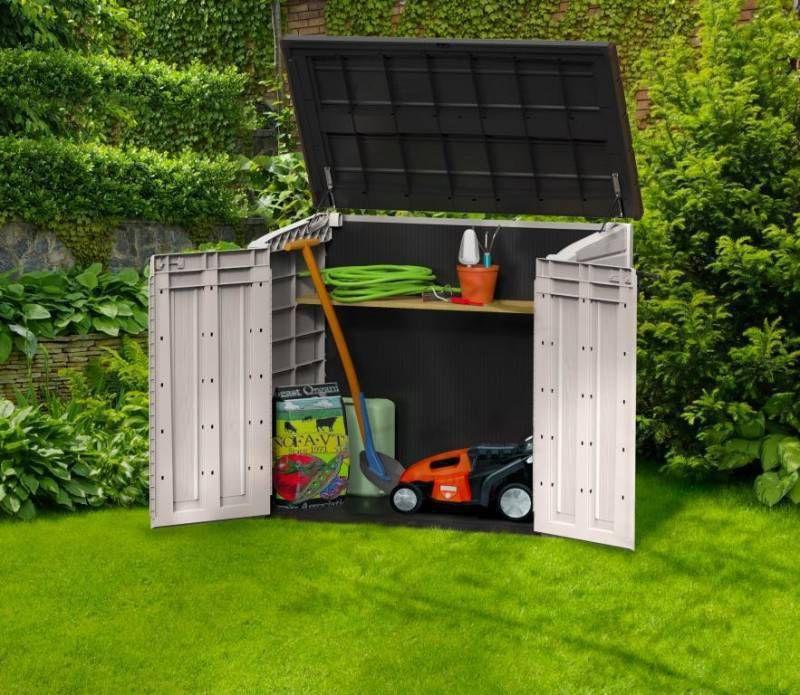 keter opbergbox store it out max tuinhuis totaalmarkt. Black Bedroom Furniture Sets. Home Design Ideas