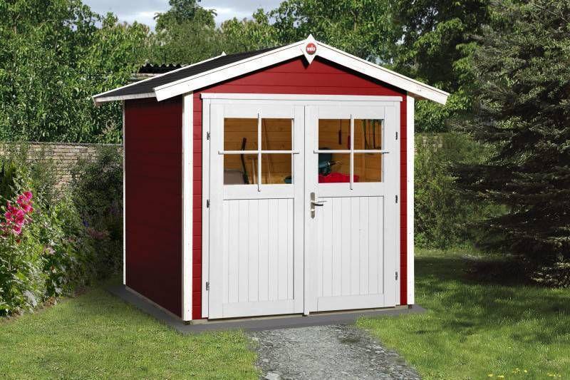 weka tuinhuis 224 205 x 209 cm zweeds tuinhuis totaalmarkt. Black Bedroom Furniture Sets. Home Design Ideas